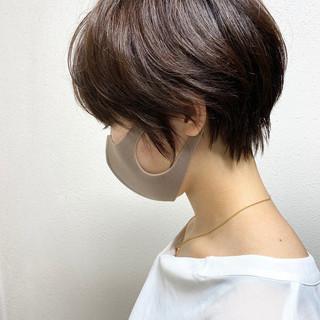 ショート ベリーショート ショートヘア ナチュラル ヘアスタイルや髪型の写真・画像