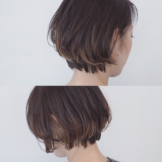 インナーカラー アッシュ 透明感 バレイヤージュ ヘアスタイルや髪型の写真・画像 ヘアスタイルや髪型の写真・画像