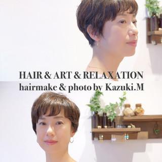 松永和樹さんのヘアスナップ