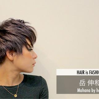 大人かわいい モード ベリーショート マッシュ ヘアスタイルや髪型の写真・画像 ヘアスタイルや髪型の写真・画像