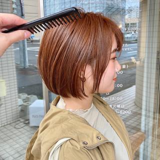 アンニュイ ショートボブ ショートヘア 小顔ショート ヘアスタイルや髪型の写真・画像
