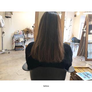 ミニボブ ナチュラル ボブ ハイライト ヘアスタイルや髪型の写真・画像