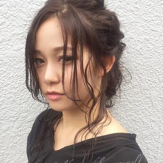 アッシュ 大人女子 セミロング 大人かわいい ヘアスタイルや髪型の写真・画像