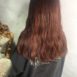 ナチュラル ロング チョコレート ミルクティーグレージュ ヘアスタイルや髪型の写真・画像