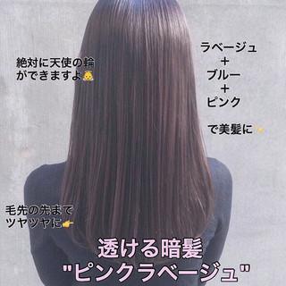 ロング 外国人風カラー 透明感カラー イルミナカラー ヘアスタイルや髪型の写真・画像