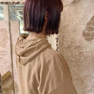 ショートボブ ボブ ショートヘア ストリート ヘアスタイルや髪型の写真・画像