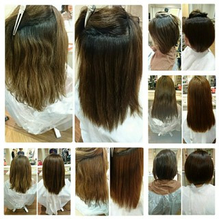 外国人風 ナチュラル ミディアム パーマ ヘアスタイルや髪型の写真・画像 ヘアスタイルや髪型の写真・画像
