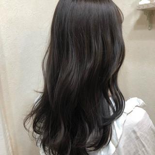 アッシュ ナチュラル 外国人風カラー グレージュ ヘアスタイルや髪型の写真・画像