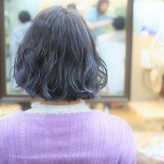 ストリート ボブ メッシュ ヘアスタイルや髪型の写真・画像