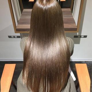 ナチュラル ロング 大人女子 パーマ ヘアスタイルや髪型の写真・画像 ヘアスタイルや髪型の写真・画像