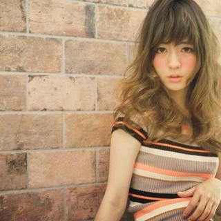 アッシュ 外国人風 パーマ ストリート ヘアスタイルや髪型の写真・画像