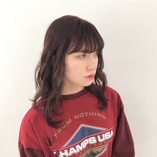 パーマ 無造作パーマ ゆるふわパーマ モード ヘアスタイルや髪型の写真・画像