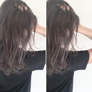 透明感 抜け感 暗髪 ナチュラル ヘアスタイルや髪型の写真・画像 ヘアスタイルや髪型の写真・画像