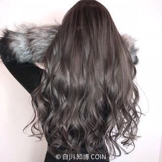 エレガント 女子力 ウェーブ ロング ヘアスタイルや髪型の写真・画像