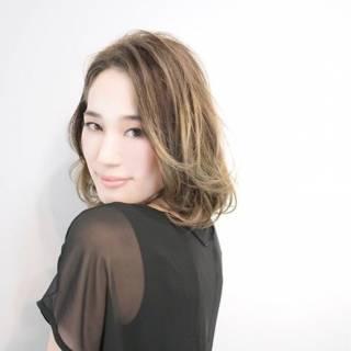 コンサバ フェミニン モテ髪 春 ヘアスタイルや髪型の写真・画像