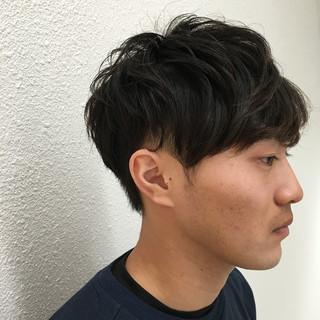 モテ髪 メンズ ボーイッシュ ショート ヘアスタイルや髪型の写真・画像