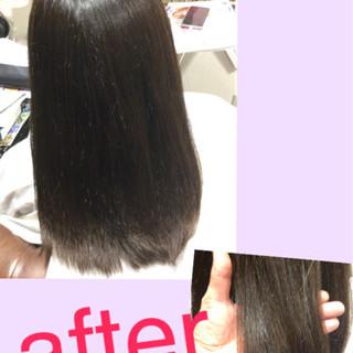 イルミナカラー 暗髪 コンサバ 黒髪 ヘアスタイルや髪型の写真・画像