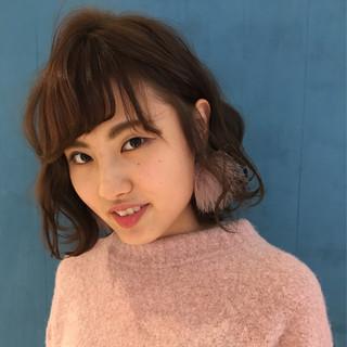 小顔 大人女子 ニュアンス ゆるふわ ヘアスタイルや髪型の写真・画像