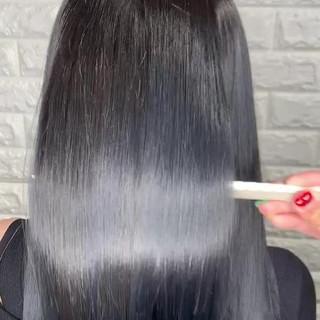 髪質改善トリートメント 髪質改善 サイエンスアクア 美髪 ヘアスタイルや髪型の写真・画像