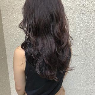 アディクシーカラー ハイライト セミロング ヘアアレンジ ヘアスタイルや髪型の写真・画像