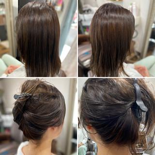 3Dカラー 外国人風カラー インナーカラー グラデーションカラー ヘアスタイルや髪型の写真・画像