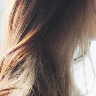 透明感 ナチュラル ロング 外国人風 ヘアスタイルや髪型の写真・画像