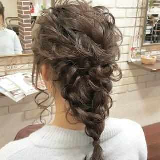 ハーフアップ ロング ヘアアレンジ 外国人風 ヘアスタイルや髪型の写真・画像