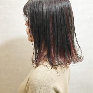 簡単ヘアアレンジ ヘアアレンジ カジュアル ミディアム ヘアスタイルや髪型の写真・画像