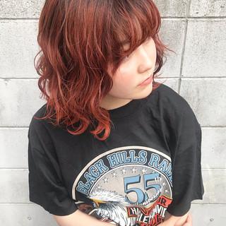 ストリート 韓国ヘア ボブ 外国人風カラー ヘアスタイルや髪型の写真・画像