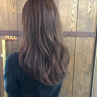 アッシュ 春 ハイライト アッシュグレー ヘアスタイルや髪型の写真・画像