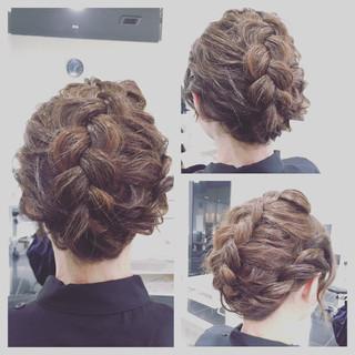 ボブ デート 簡単ヘアアレンジ ショート ヘアスタイルや髪型の写真・画像 ヘアスタイルや髪型の写真・画像