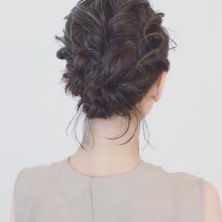 ショート 大人かわいい 結婚式 パーティ ヘアスタイルや髪型の写真・画像