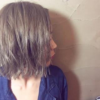 ウェーブ モード ゆるふわ ショート ヘアスタイルや髪型の写真・画像