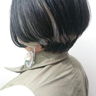 モード 簡単スタイリング ボブ ショートボブ ヘアスタイルや髪型の写真・画像