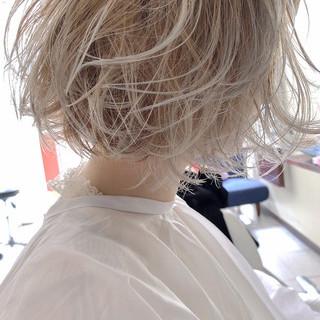 花井啓好さんのヘアスナップ