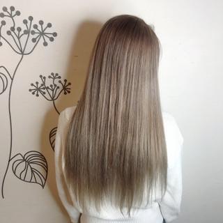 グラデーションカラー 外国人風カラー ロング 艶髪 ヘアスタイルや髪型の写真・画像