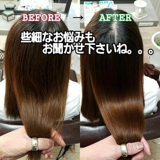 髪の病院 艶髪 ロング トリートメント ヘアスタイルや髪型の写真・画像