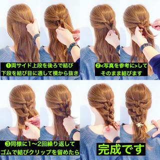 ショート ロング アウトドア フェミニン ヘアスタイルや髪型の写真・画像