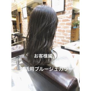 ブルージュ デジタルパーマ パーマ ゆるふわ ヘアスタイルや髪型の写真・画像