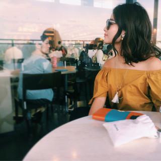 ハイライト ヘアアレンジ ウェットヘア 大人かわいい ヘアスタイルや髪型の写真・画像