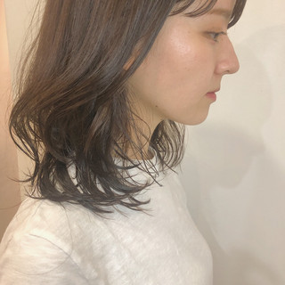 簡単ヘアアレンジ ヘアアレンジ デート 切りっぱなしボブ ヘアスタイルや髪型の写真・画像