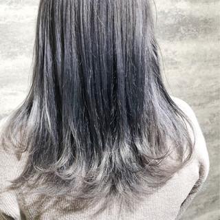 ダメージレス ホワイトカラー モード アディクシーカラー ヘアスタイルや髪型の写真・画像