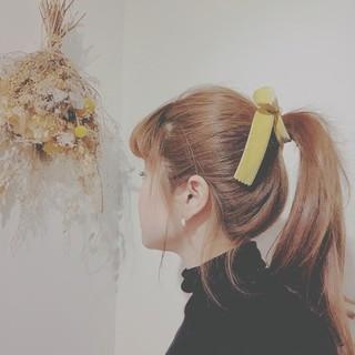 ゆるふわ 簡単ヘアアレンジ フェミニン デート ヘアスタイルや髪型の写真・画像