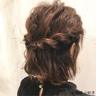 結婚式 デート フェミニン 簡単ヘアアレンジ ヘアスタイルや髪型の写真・画像 ヘアスタイルや髪型の写真・画像