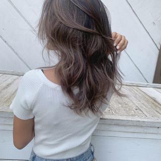 ハイライト ヘルシースタイル 大人ハイライト ロング ヘアスタイルや髪型の写真・画像