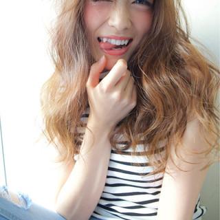 愛され モテ髪 大人かわいい フェミニン ヘアスタイルや髪型の写真・画像