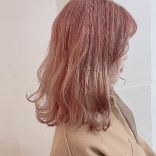 韓国 ミニボブ 韓国ヘア 外国人風カラー ヘアスタイルや髪型の写真・画像