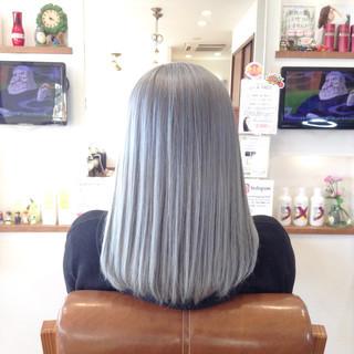結婚式 メッシュ バレイヤージュ 外国人風カラー ヘアスタイルや髪型の写真・画像