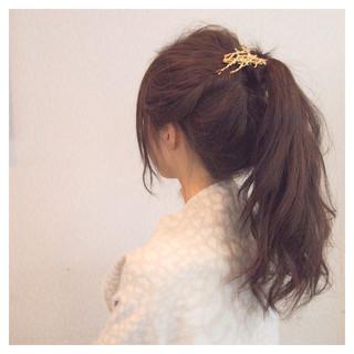 ヘアアレンジ 大人女子 簡単ヘアアレンジ 結婚式 ヘアスタイルや髪型の写真・画像 ヘアスタイルや髪型の写真・画像