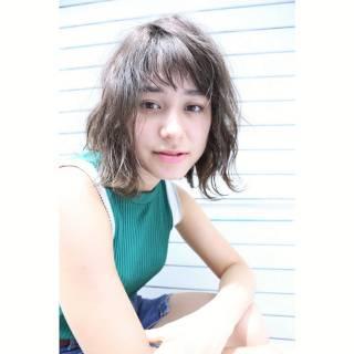 愛され 外国人風 ミディアム モテ髪 ヘアスタイルや髪型の写真・画像